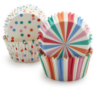 Toot Sweet Confetti Bake Cups, Set of 48