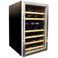 34-Bottle Dual-Zone Wine Cooler