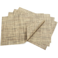 Bark Rectangular Basketweave Placemat