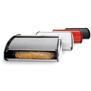 Metal Bread Boxes, White
