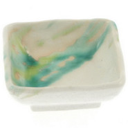 Square Flowing Brushstrokes Dip Dish, 1  x 2??