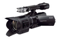 NEX-VG30H Interchangeable Lens HD Camcorder and Le