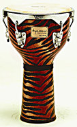 Tycoon Percussion Fantasy Tiger Series Djembe 12