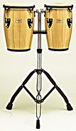 TCJ-BND Junior Congas With Double Stand