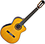 EG522C Acoustic-Electric Classical Guitar