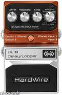 HardWire DL8 Delay/Looper Pedal
