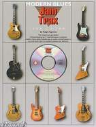 Jam Trax Modern Blues For Guitar Book and CD