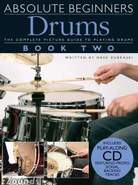 Amsco Beginner Drums Book 2 with CD