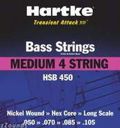 Medium Bass Strings (4-String, HSB450)