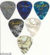 351 Premium Celluloid Heavy Picks - Abalone
