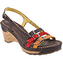 Stylish 119 Multicolor Brown Women's