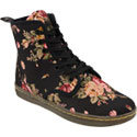 Shoreditch Black Floral Women&#39;s