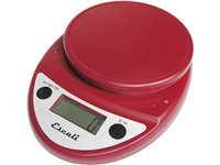 11-lb. Primo Digital Scale, Warm Red