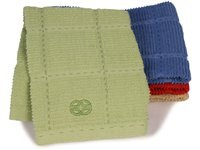 17x30-in. Terry Towel, Green Apple