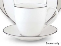 4-in. Continental Dining Saucer, Platinum
