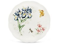 10.75-in. Butterfly Meadow Dinner Plate, Orange Su