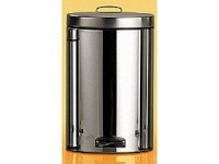 Pedal Bin with Bio Bucket, Stainless Steel