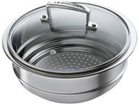 2.75-qt. Stainless Covered Steamer Insert