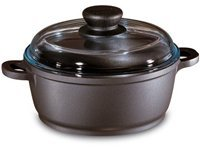 1.25-qt. Nonstick Tradition Dutch Oven with Glass