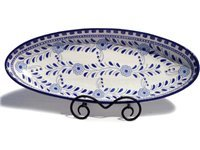 21-in. Oval Azoura Serving Platter