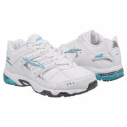 A 115 Wide Width Shoes (Wht/Silver/Blue/Grey) - Wo