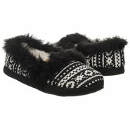 Butterscotch Slipper Accessories (Black Knit) - Wo