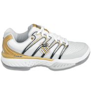 Bigshot Shoes (Wht/Blk/Gld) - Women's Shoes - 9.5