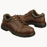 Lace to Toe Oxford Shoes (Brown) - Women's Shoes -
