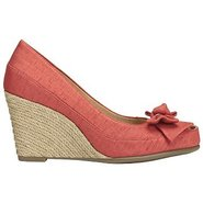 Well Wisher Shoes (Coral Fabric) - Women&#39;s Shoes -