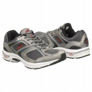 A5023M BVR Shoes (Black/Silver/Red) - Men's Shoes