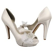 Paulette Shoes (White Silk Satin) - Women's Shoes