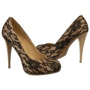 Cannes Shoes (Nude / Black Lace) - Women&#39;s Shoes -