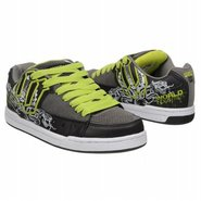Vandal Shoes (Grey/Black/Lime) - Kids' Shoes - 6.5