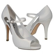 Allure Shoes (White Satin) - Women&#39;s Shoes - 7.0 M
