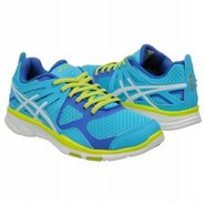 GEL SUSTAIN TR Shoes (Elecbluew/White/Lime) - Wome