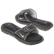 Comfort Slide Sandals (Black) - Women&#39;s Sandals - 