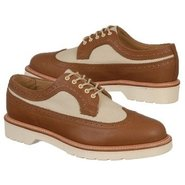 Alfred Brogue Shoe Shoes (Tan/Porcelain) - Men's S