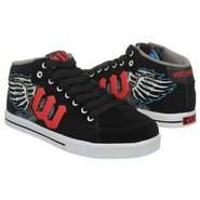 Varsity Mid Shoes (Black/Red/Blue) - Kids' Shoes -
