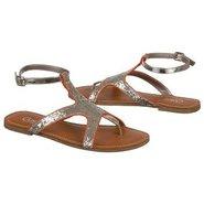 Fancy Sandals (Red Glitter) - Women's Sandals - 6.