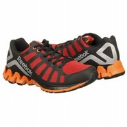 Zig Kick Shoes (Black/Red/Orange) - Men's Shoes -