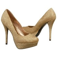 Glitter Pump Shoes (Nude) - Women&#39;s Shoes - 9.5 M