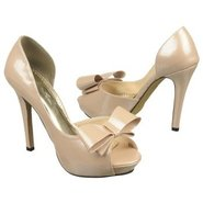 Bow Shoes (Champagne Patent) - Women&#39;s Shoes - 5.5