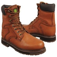 8  soft toe lacer Boots (Tan) - Men's Boots - 7.0