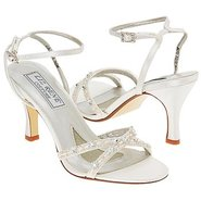 Madelyn Shoes (White Fabric) - Women's Shoes - 5.0