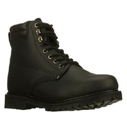 Foreman Steel Toe Boots (Black) - Men's Boots - 12