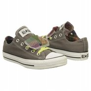 All Star Lo Double Shoes (Charcoal Plaid) - Women&#39;