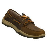 Valko-Burton Shoes (Dark Brown) - Men's Shoes - 8.