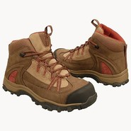 Maggie Mid Boot Boots (Mid Brown/Red) - Women's Bo