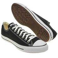 Chuck Taylor All Star Lo Shoes (Black/White) - Men