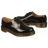 1461 3-Eye Gibson Shoes (Black Leather) - Women's